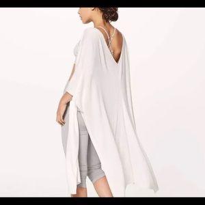 Lululemon Taryn Toomey meditation cloak OS